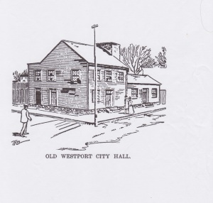 The Old Westport City Hall, looks similar in shape to my house.