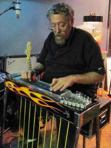 Bob playing pedal steel guitar