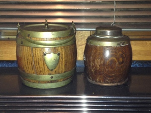 Pioneer lunch pail and coffee thermos