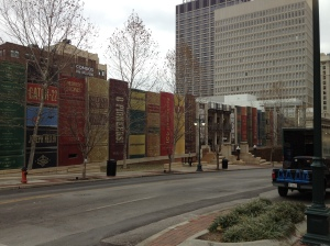 On my way to the Kansas City library.
